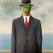 """""""Le fils de l'homme"""" opera di René Magritte 2014"""