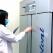 Uno dei frigoriferi contenenti il vaccino antiCovid