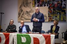 La presentazione dei candidati del PD per le elezioni 2019 (foto Vissani)