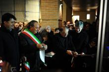 L'inaugurazione del Centro Giovani di S.Eraclio (foto Vissani)