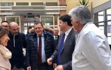 Luca Coletto in visita all'ospedale di Foligno