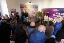 """L'inaugurazione della sede di """"Patto x Foligno"""" (foto Vissani)"""