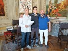 Da sinistra lucio Cacace, Tommaso Finestra e Carlo Mattioli