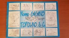 Alcuni dei disegni realizzati da Gigino