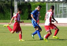 Gianmarco Monaco in azione contro il Bastia (foto Alessio Vissani)