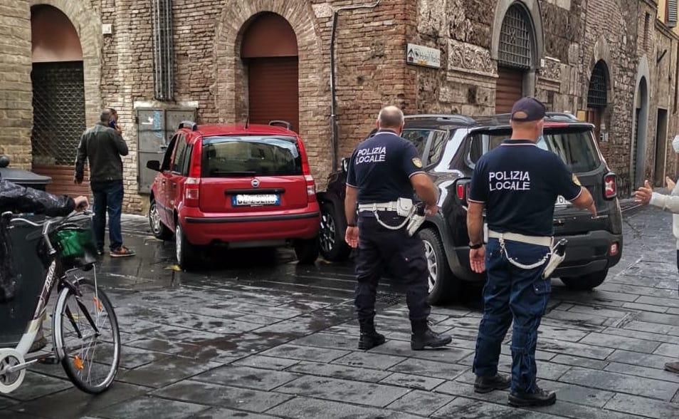 Foligno, tra via Gramsci e via Palestro un nuovo incidente ...