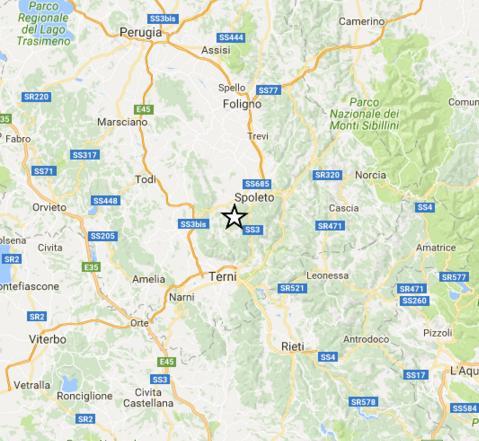 Terremoto: scuole evacuate a Terni e Spoleto dopo scossa 3.9